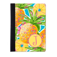 Preppy Pineapple Personalized iPad Mini Folio Case