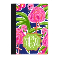 Fancy Flamingos Personalized iPad Mini Folio Case