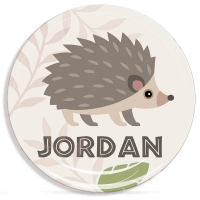 Hedgehog Personalized Microwave Safe Plate