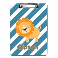 Leo the Lion Kids Personalized Clipboard