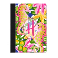 Sea Horse Jungle Personalized iPad Folio Case, Monogrammed iPad Jacket