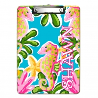 Swimming with Seahorses Personalized Clipboard