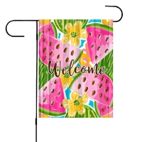 Watermelon Personalized Garden Flag