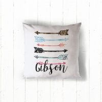 Arrows Personalized Pillow