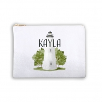 Lighthouse Personalized Makeup Bag
