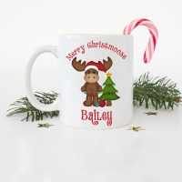 Merry Christmoose Coffee Mug