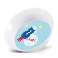 To The Moon Rocket Kids Bowl