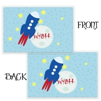 To The Moon Rocket Ship Placemat
