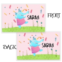 Personalized Kids Placemant - Dancing Elephant