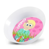 Personalized Little Me Girls Easter Bowl - Easter Egg