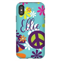 Hippie Chick Personalized Phone Case