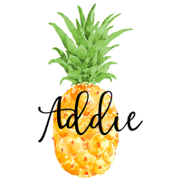 Pineapple Tumbler Decal