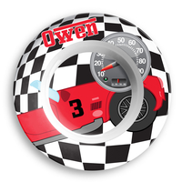 Race Car Personalized Microwave Safe Bowl