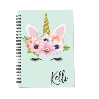 Personalized Notebook - Unicorn
