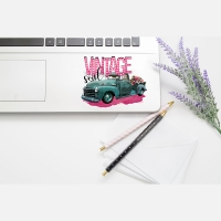 Vintage Soul Car Window-Laptop-Permanent Decal
