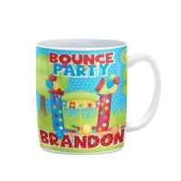 Bounce House Personalized Kids Mug