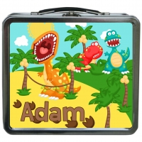 Dinosaurs Personalized Boys Lunchbox