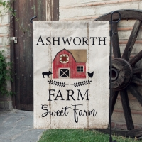 Farm Sweet Farm Farmhouse Garden Flag
