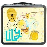 Honey Bee Girls Personalized Girls Lunchbox