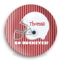 Football Personalized Plate
