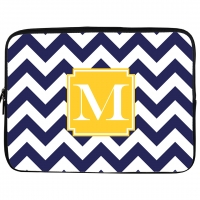 Chevron Monogrammed iPad Sleeve