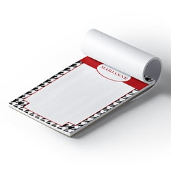 Custom note pads, notepads, personalized note pads