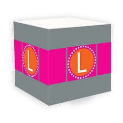 Personalized Sticky Note Cubes