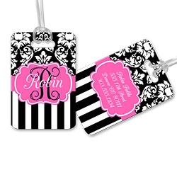 Luggage Tags, Custom Luggage Tags, Personalized Luggage Tags, Monogrammed Bag Tags