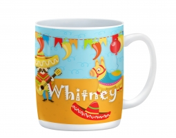Fiesta! Personalized Birthday Mug