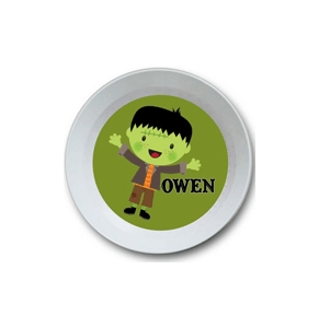 Halloween Boy Personalized Halloween Bowl