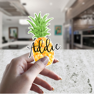 Pineapple Personalized Yeti Decal