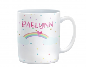 Rainbow Personalized Kids Mug