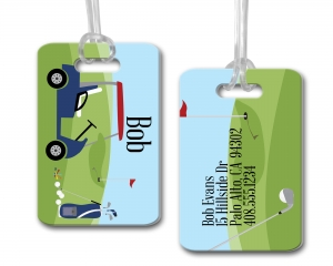 Golf Personalized Bag Tag