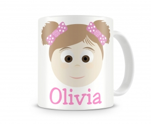 Little Me Girls Personalized Mug