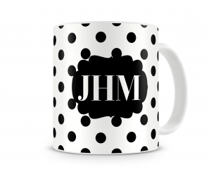 Polkadot Personalized Mug