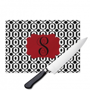 Urban Monogrammed Cutting Board