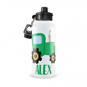 Tractor Personalized Water Bottle