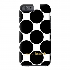 Big Dots Monogrammed Phone Cover