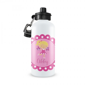 Cheerleader Monogrammed Water Bottle