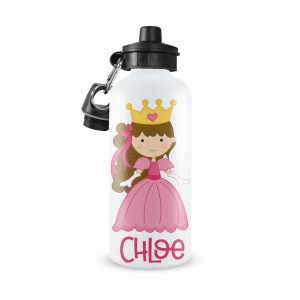 Princess Monogrammed Water Bottle