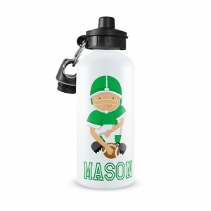 Quarterback Football Personalized Water Bottle