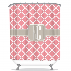 Personalized Shower Curtain Bamboo