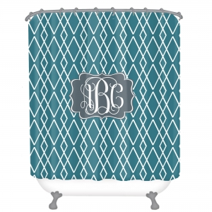 Personalized Shower Curtain Luxe