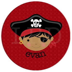 Pirate Face Plate {sold separately}