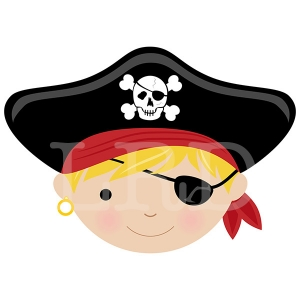 Blonde Hair with Eye Patch