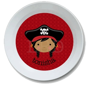 Pirate Face Bowl  {sold separately}