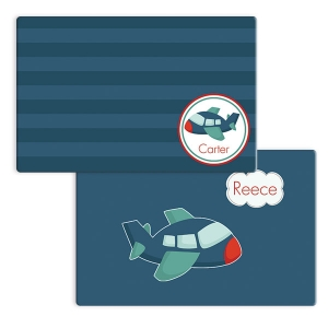 High Flyer Boys Personalized Placemat