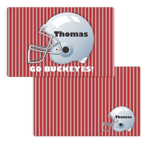 Football Boys Personalized Placemat