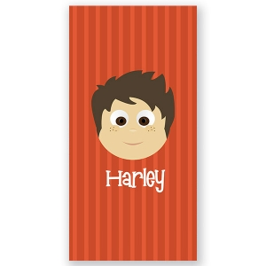 Little Me Boy Personalized Kids Beach Towel