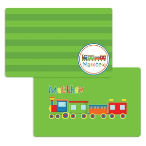 Choo Choo Train Personalized Placemat